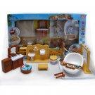 Bathroom Bathtub Full Set for Sylvanian Families Furryville Calico Critters Doll #13038