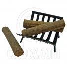 Iron Fireplace Log Rack Holder 3 x Woods 1/12 Doll's House Dollhouse Miniature #12600