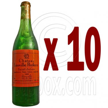 Lot/Set 10 Champagne Bottle 1:6 Barbie Blythe Doll's House Dollhouse Miniature #12644