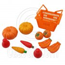 Set/Lot Supermarket Basket Fruits 1:6 Scale for Barbie Monster High Doll Dolls #12985