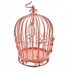 Pink Wire Birdcage Bird's Cage New Dollhouse Miniature #11995