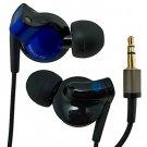 Blue 3.5mm In-Ear Stereo Long Headphones 4 Apple iPod #11945
