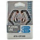 Black 3.5mm Swing Ear Hanger Oval Rubber Ring Clip Sports Earhook Headphones MIB #12133