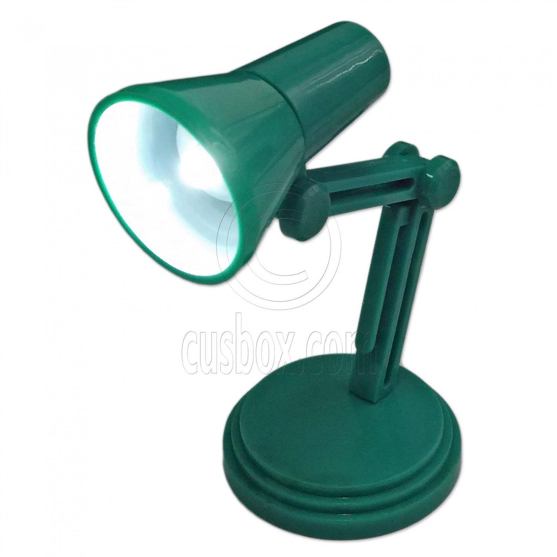 Flexible Neck Working LED Table Lamp Light 1:6 Scale Barbie Monster High Dolls[Green] #13148