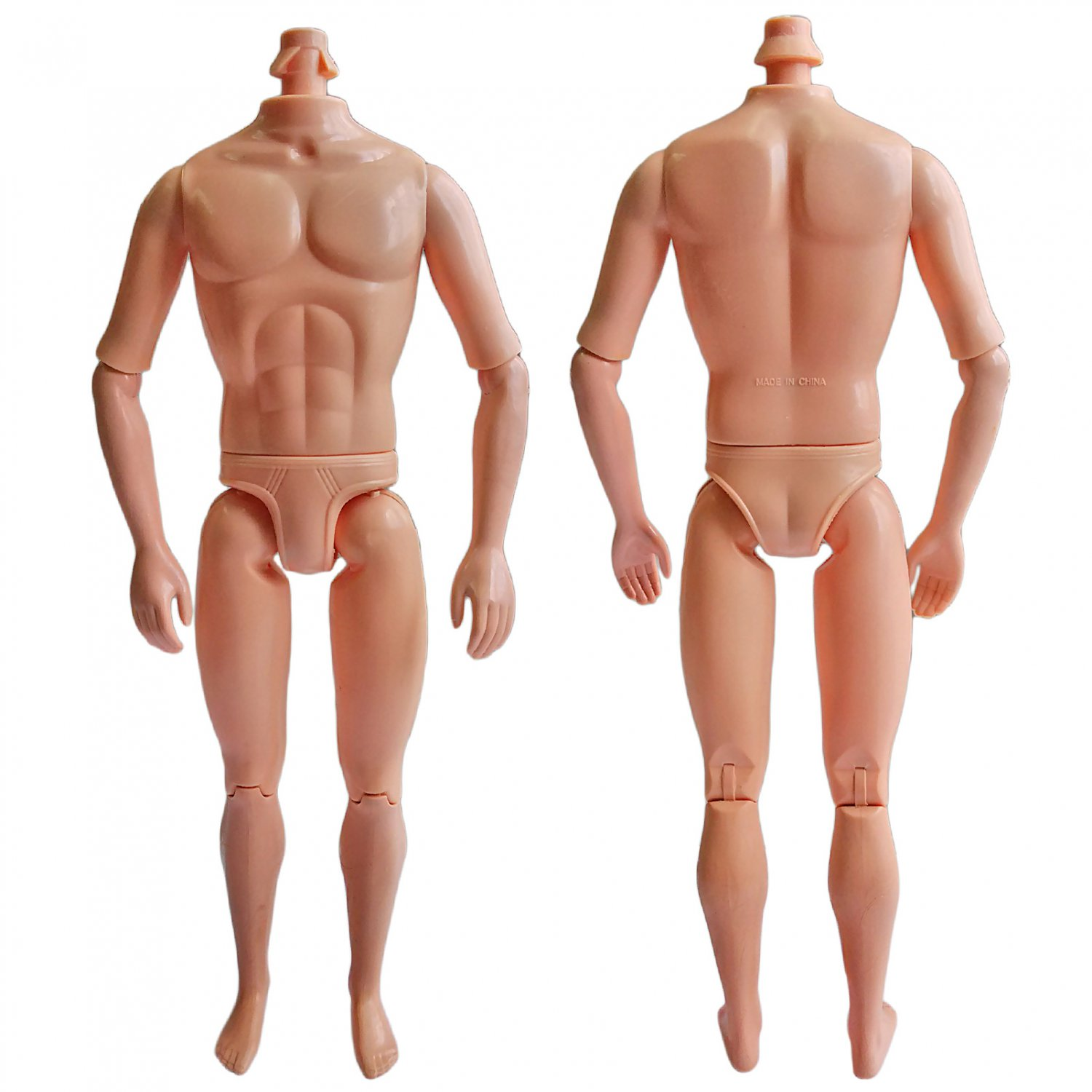 """Naked Nude Raw Body Custom Muscular Men Male 1/6 Scale Action Figure 12"""""""" Dolls #13306"""