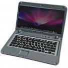 Silver Metal Laptop MacBook 16:10 1/12 Scale Doll's House Dollhouse Miniature #13316