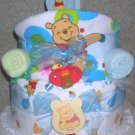 ~GRAND WINNIE THE POOH THEME DIAPER CAKE~GIFTS BY JAYDE