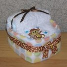 MINIATURE DIAPER BASSINET SHOWER GIFT~GIFTS BY JAYDE