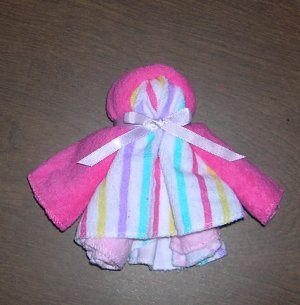 **NEW**  WASHCLOTH DOLLS~BABY SHOWER FAVOR~DIAPER CAKES