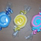 WASHCLOTH CANDY MINT FOR BOY ~ BABYSHOWER FAVOR ~