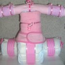 DIAPER CAKE TRICYCLE~BABY SHOWER GIFT~GIFTS BY JAYDE