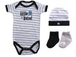 **MODERN ROCK & REBEL GIFT SETS~BABY SHOWER GIFT