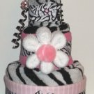 MOMMY AND BABY TOWEL CAKE ~ GIFTS BY JAYDE BABY SHOWER GIFT