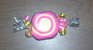 WASHCLOTH CANDY SWIRL~BABY SHOWER FAVOR