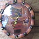 New Wall Clock from Cusco Peru