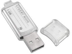 SANDISK 1 GB CRUZER MICRO USB FLASH DRIVE