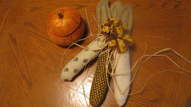 Fall Handmade Indian Corn