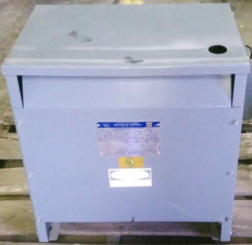 Square D 30T6H Sorgel Transformer 30 KVA 480/240 Volt