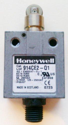 Honeywell 914CE2-Q1 Micro Limit Switch 3 Amp 250 Volt