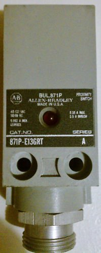 Allen Bradley 871P-E13GRT Proximity Switch 132V .5 Amp