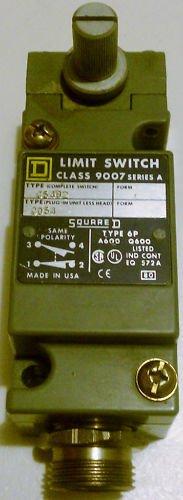 Square D 9007C54B2 Limit Switch Turret Head 10 Amp 600V