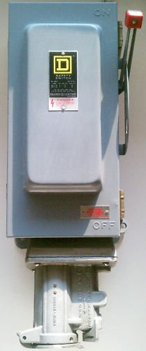 Square D H362AWC Disconnect 60 Amp 600 V Crouse-Hinds