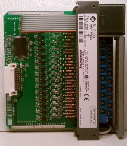 Allen Bradley 1746-IV16 Ser C SLC 500 Input Module