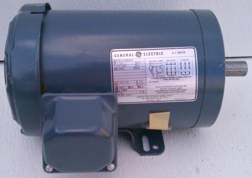GE 5K47KG8064 Motor 1.5 HP 230/460V 3450 RPM 3 PH 143TC