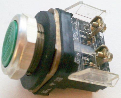 Allen Bradley 800T-A Flush Momentary Pushbutton Green