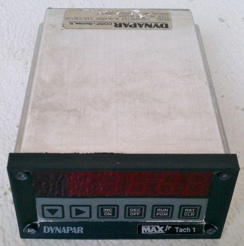 Dynapar MTJR1S00 Max Jr Tachometer 115/230 Volt