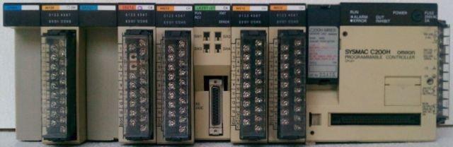 Omron C200H SYSMAC PLC CPU01-E LK201 ID212 IM212 IA122