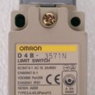 Omron D4B-3571N Roller Plunger Limit Switch 2A 400 Volt IP67 D4B-0071N Nema A600