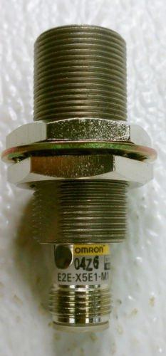 Omron E2E-X5E1-M1 Inductive Proximity Switch 12-24 VDC 5 mm NPN NO
