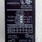 Omron E3JM-R4M4T-US Photoelectric Reflective 4 Meter Range SPDT Timer 12/24/240V