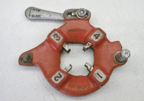 """Ridgid No. 500 Pipe Threader Die Head 1-1/2"""" , 1.5"""" SS 535 / 300 E671"""