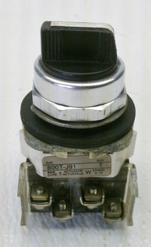 Allen Bradley 800T-J91 Series T 3 Position Selector Switch Spring Return Center