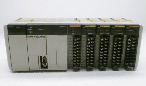 Omron CQM1 SYSMAC PLC CPU41-EV1 CQM1-CPU41-EV1 OC222 IA121 PA203 RS232 COMM