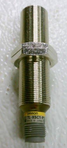 Omron TL-X5C1-P1L Proximity Switch Sensor 12-24 VDC NPN NO
