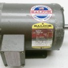 Baldor M3116T Drip Proof Motor 1 HP 1725 RPM 143T 208/230/460 VAC 3 Ph 3/4 Shaft
