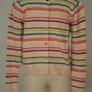 Gymboree Multi-Color Striped Button Down Sweater Kids 9