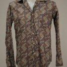 Coast Paisely Cotton Shirt Size M