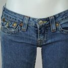 True Religion Brand Jeans Size 27 Flare Medium Wash