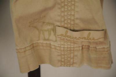 Abercrombie Kids Tan Cargo Pants 12