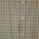 Polo Jeans Co. Short Sleeve Yellow & Blue Plaid XXL