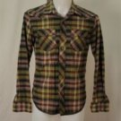 American Eagle Outfitters Vintage Fit Green Plaid Small