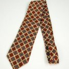 Multi-Color 100% Silk Tie