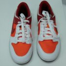 Red Orange White Nike Dunk Low Womans Size 8