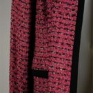 New Jones New York Pink and Black Blazer Size 16