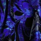 New Le Bos Blue Floral Outfit Plus Size 14W