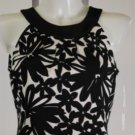 New NWT Jessica Howard Black and White Floral Dress Size 6